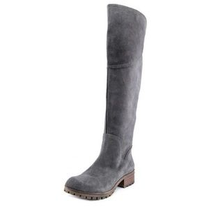 Lucky Brand Harleen Suede Over the Knee Boot 9